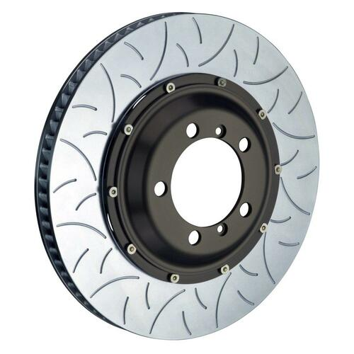 Brembo 2-Piece Discs Front , Slotted Type-3 - suits Porsche 05-11 997 GT3 Cup