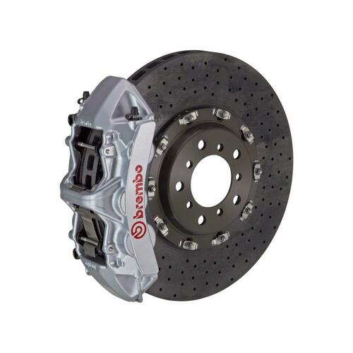 Brembo GT CCM-R Brake System Front 6 Piston, Drilled - suits Porsche 02-05 996 GT2, 06-09 997 GT3, 997 GT3RS (Excluding PCCB)