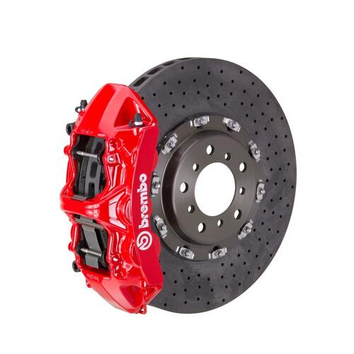 Brembo GT CCM-R Brake System Front 6 Piston, Drilled - suits BMW 15+ M3 (Excluding Carbon-Ceramic Brake) (F80), 15+ M4 (Excluding Carbon-Ceramic Brake