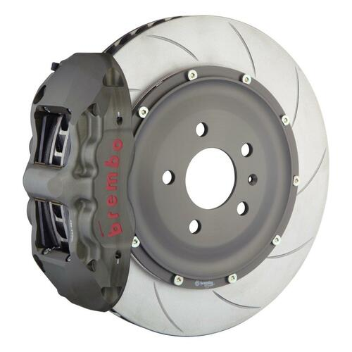 Brembo Race Brake System Front 4 Piston, Slotted Type-5 - suits  93-95 RX-7