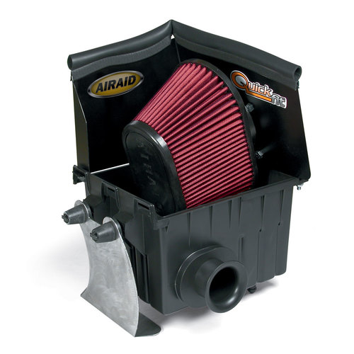 Airaid 01-03 Ford Ranger/Sport Trac 4.0L SOHC CAD Intake System w/o Tube (Oiled / Red Media) (400-121)