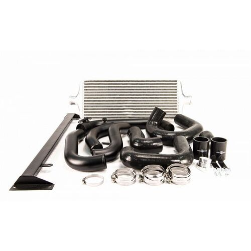 Process West Front Mount Intercooler Kit (suits Subaru 08-14 GRB WRX) - Silver